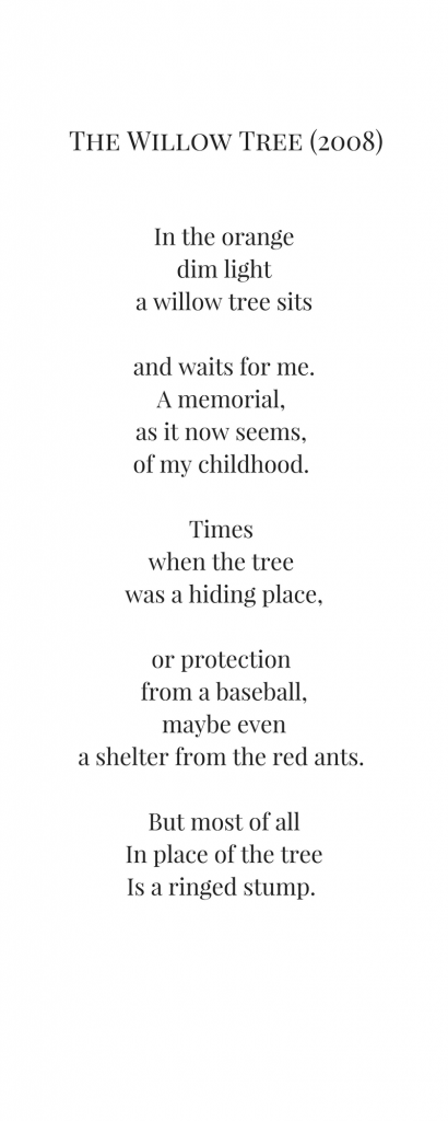 The Power Of The Past Poems From My Childhood